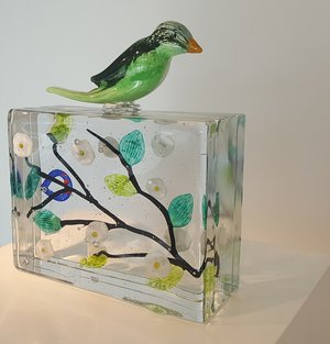Fågel Grön Limiterad