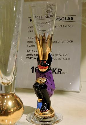 Nobel Djävulsglas 2015 Purpur - Orrefors Snapsglas