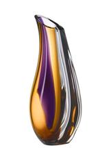 Orchid Vas Lila/Bärnsten Stor