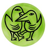 Last Peace Fat Fåglar Grön