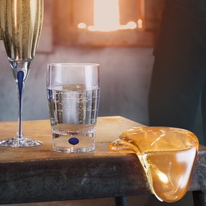 Intermezzo Blå Vatten - Orrefors Vattenglas