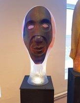 Skulptur med Mask