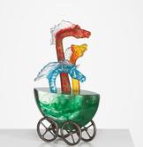 Mini-ark Hästar Free widhts Färgade Grön