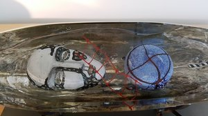 Båt Columbus Huvud Silver - Kosta Boda