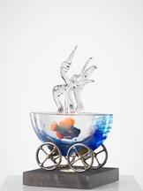 Mini-ark Fåglar Klarglas Chatter