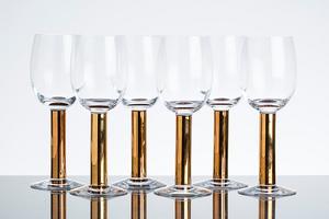 Nobel Öl Rödvin - Orrefors Ölglas Rödvinsglas
