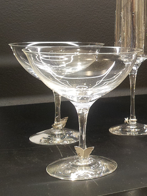 Symbols Champagne Coupe Butterfly 2-pack - Orrefors Champagneglas