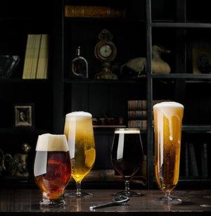 Beer Taster 4-pack - Orrefors Ölglas
