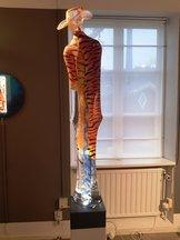 Tigerman Orange Blå