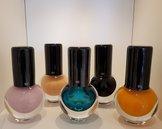Make Up Rund Flera Färger