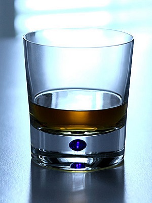 Intermezzo Blå Old Fashioned OF - Orrefors Whiskeyglas