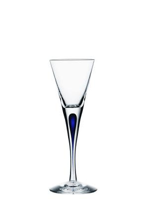 Intermezzo Blå Snaps - Orrefors snapsglas