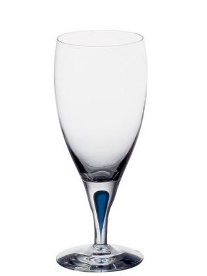 Intermezzo Blå Öl Isvatten 45 Cl - Orrefors Ölglas