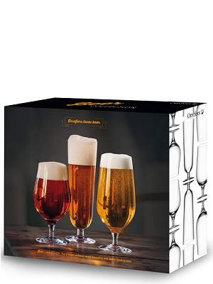 Beer Collection 3-pack - Orrefors Ölglas