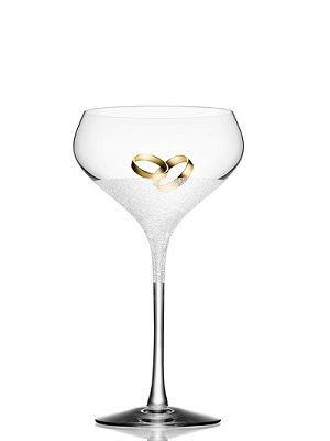 Divine Champagneglas Coupe - Orrefors