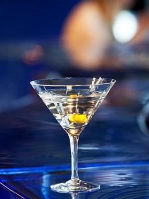 Street Martini Cocktail - Orrefors Martiniglas