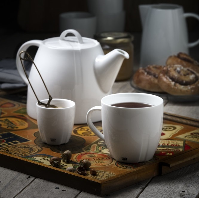 Kaffemugg, Te mm