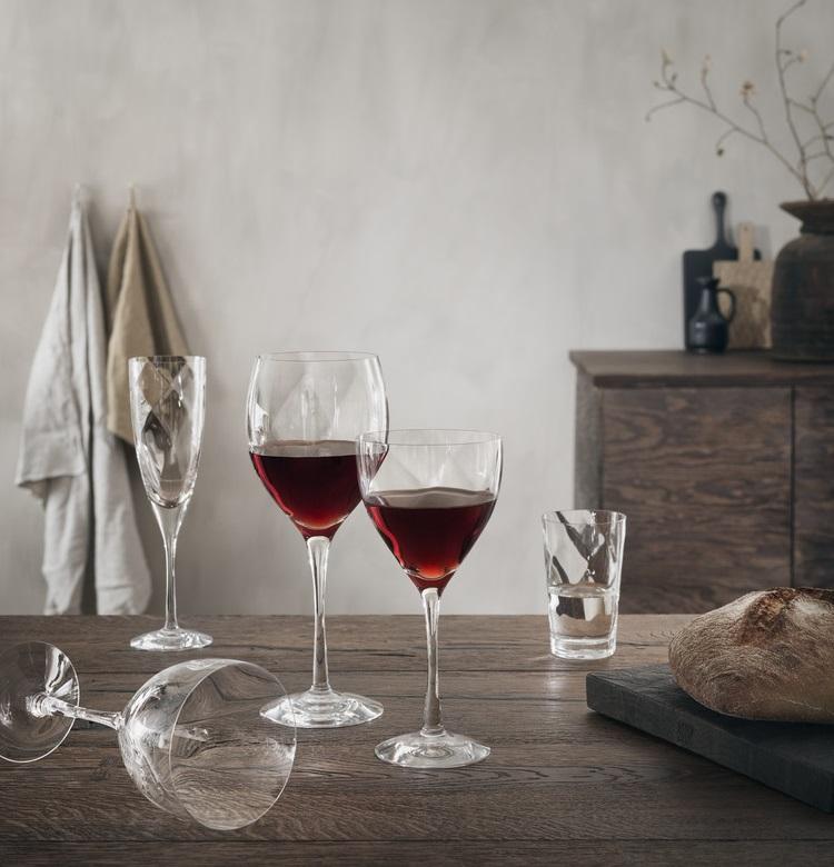 Seriøst Kosta Boda Château Champagneglas- Svenskt Konstglas SU65